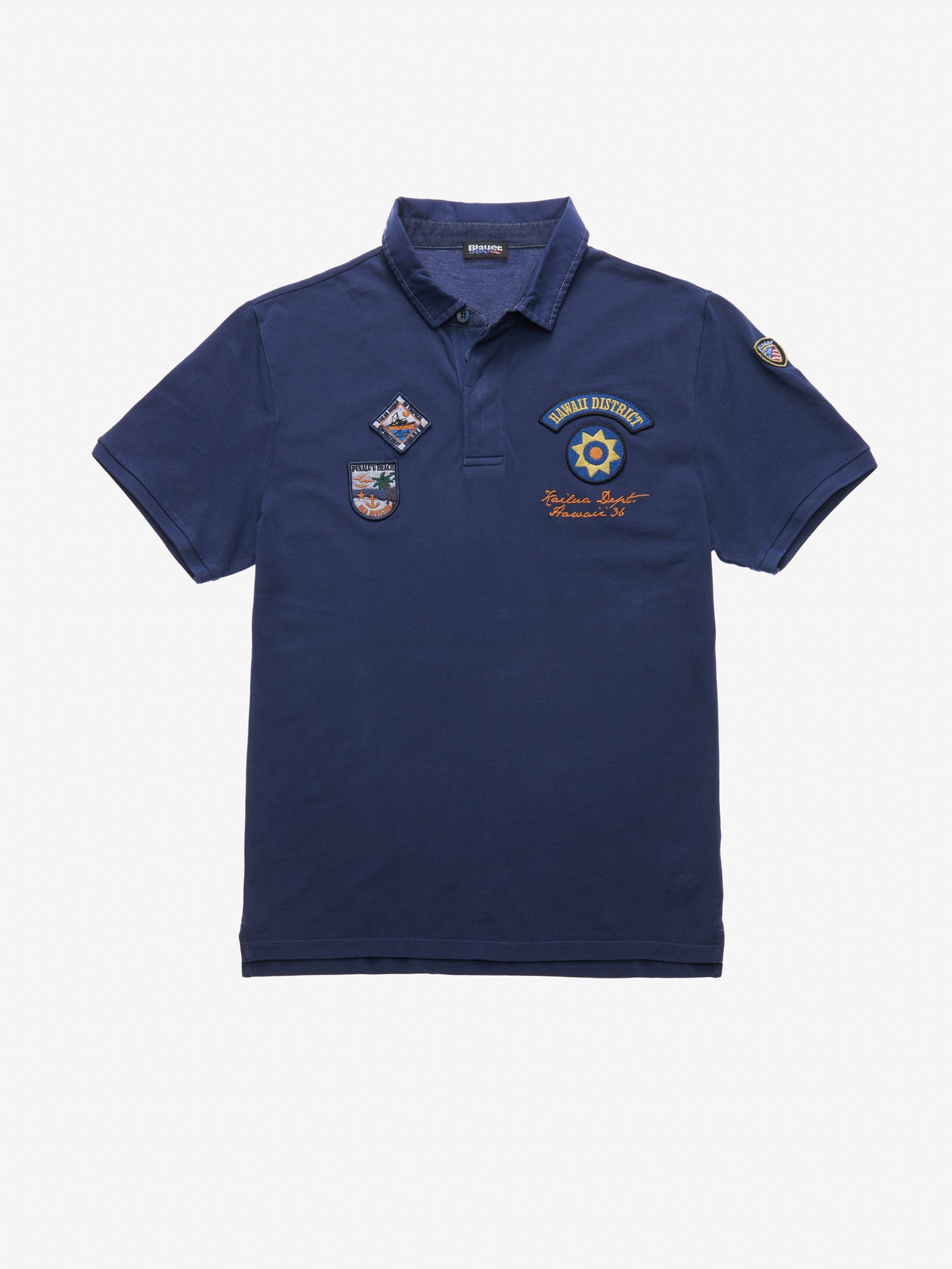 Blauer - HAWAII DISTRICT POLO SHIRT - Blue Ink - Blauer
