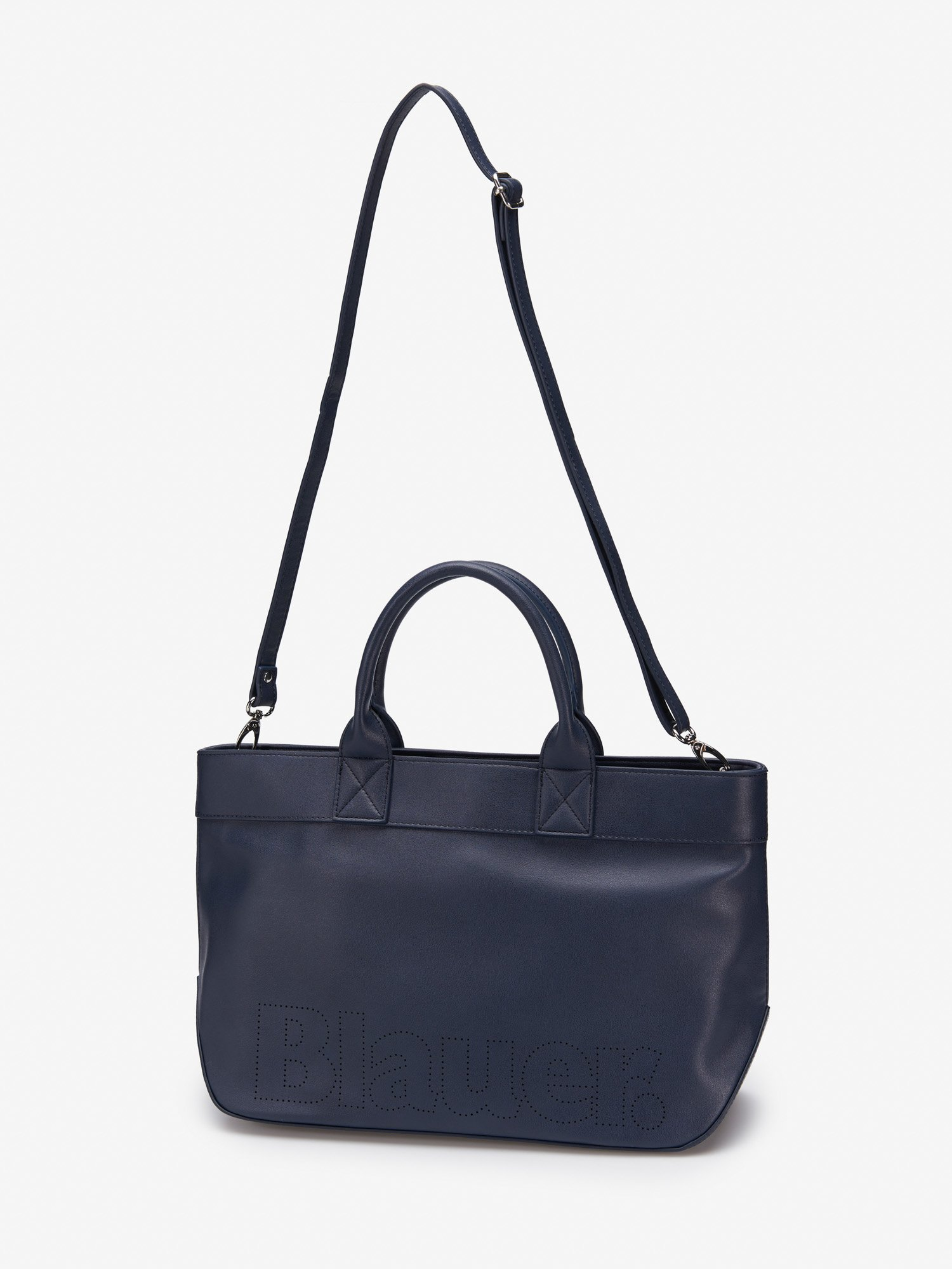 SHOPPER LARGE LEATHER TOTE - Blauer