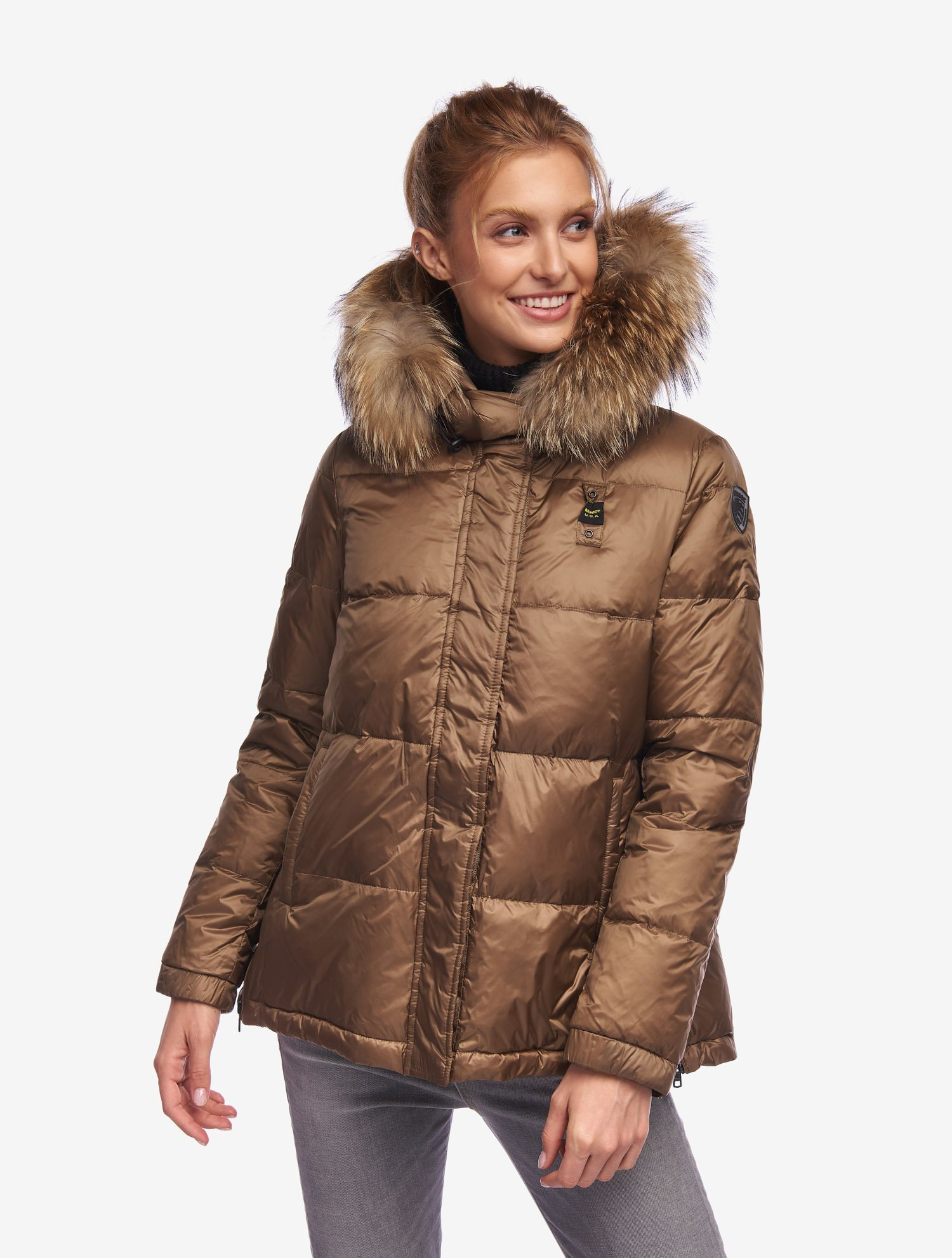 HUNT FLARED DOWN JACKET - Blauer