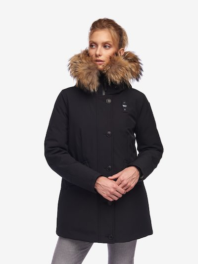WILKINSON NEOPRENE PARKA WITH FUR