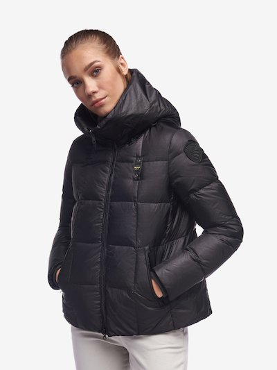 KAUR DOWN JACKET WITH AMPLE HOOD