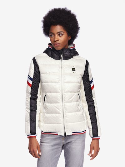 GARDNER BICOLOUR NYLON DOWN JACKET