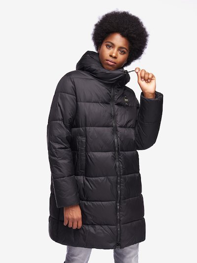 LANGE DAUNENJACKE FÜR DAMEN BIO FIBERS WILLIAMSON