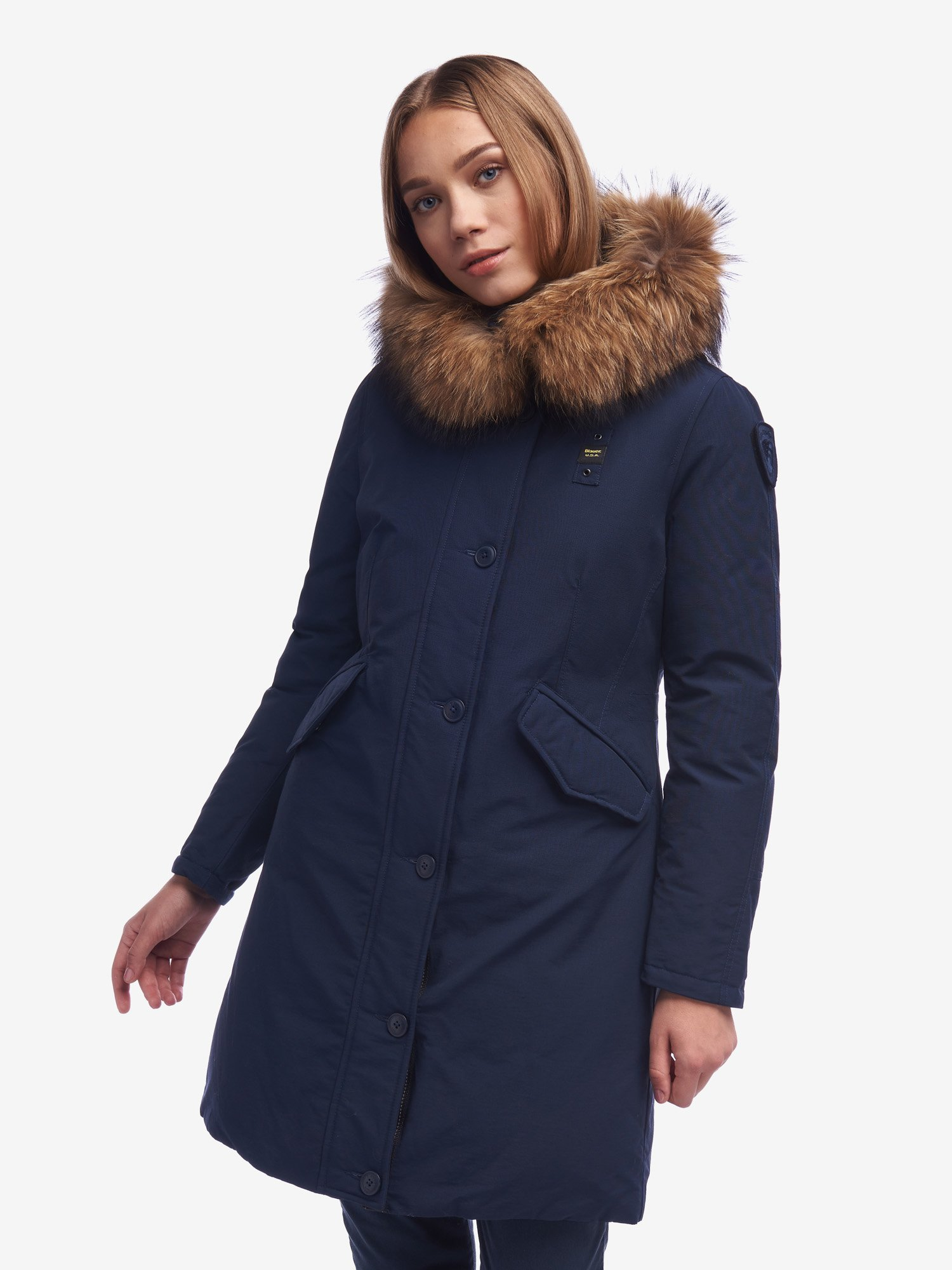 WOODS PARKA IN LIGHT TASLAN - Blauer