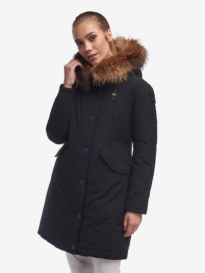 PARKA DONNA IN TASLAN LIGHT WOODS