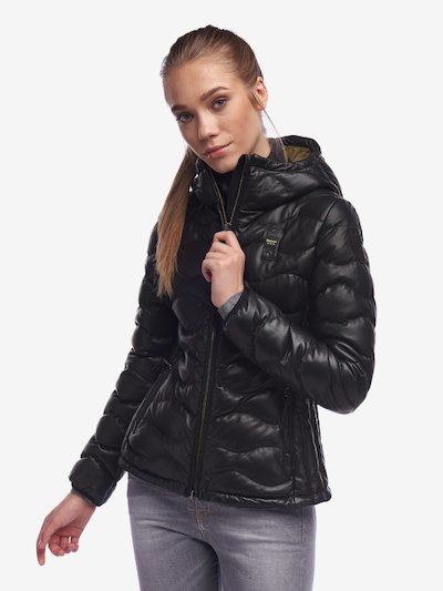 DAVIES WOMEN'S JACKET IN COLOURED LEATHER