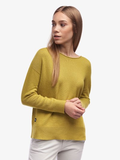 SOLID COLOUR CREW NECK SWEATER