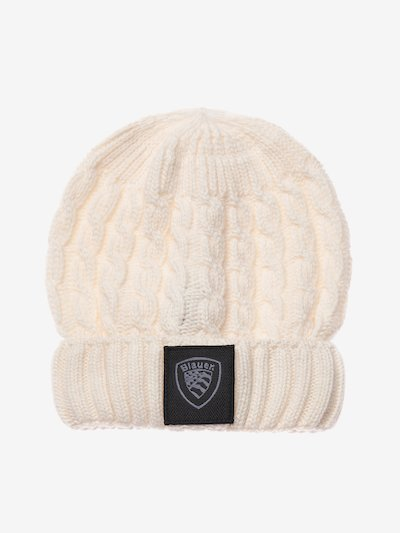 JUNIOR CABLE KNIT CAP