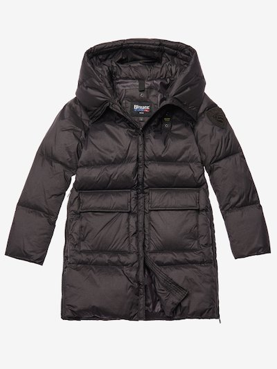 WOODS  LONG IRIDESCENT DOWN JACKET