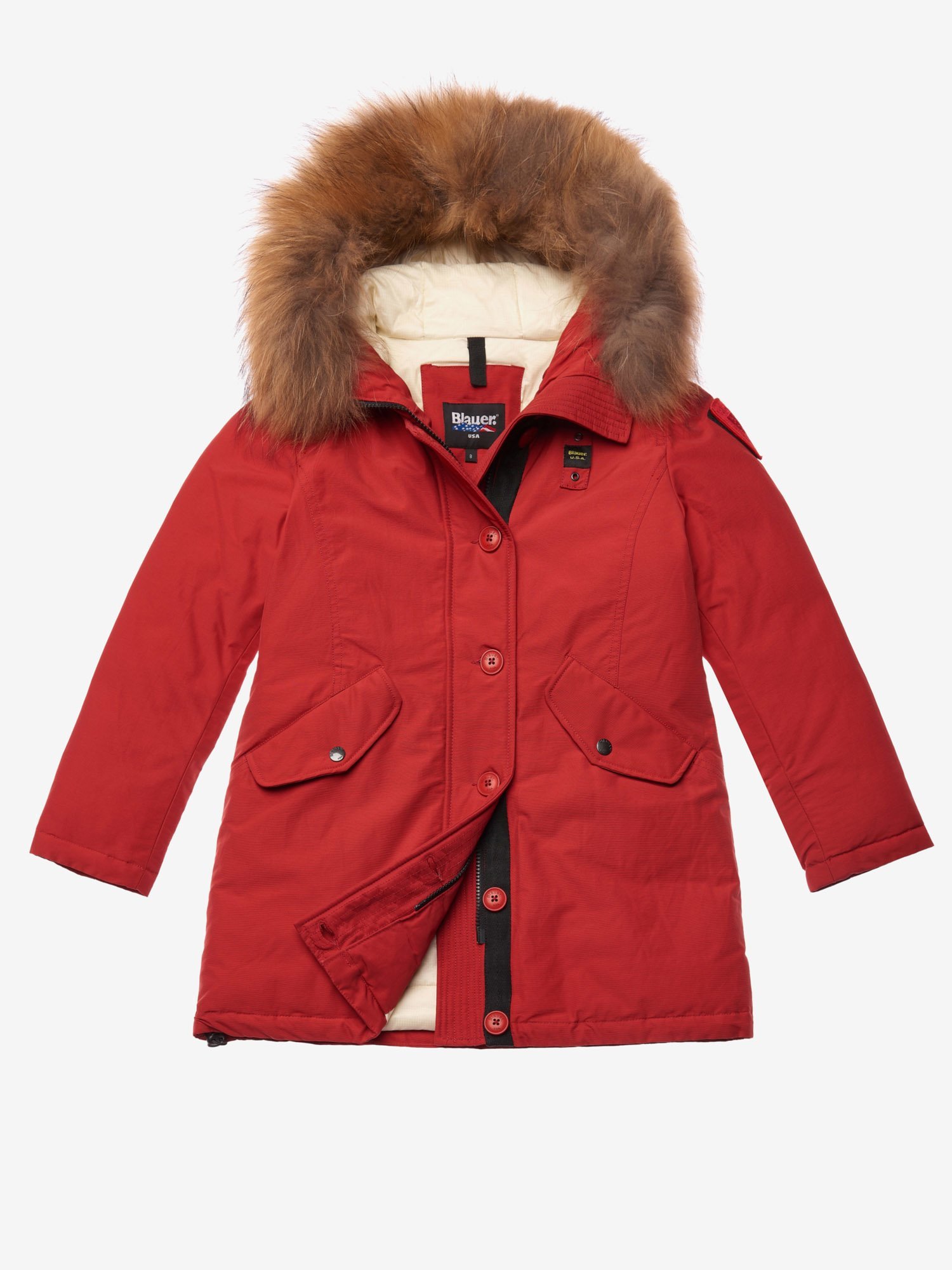 BALL  PARKA IN LIGHT TASLAN - Blauer