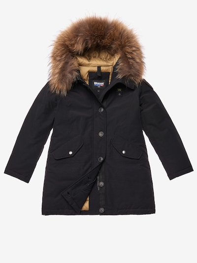 PARKA FILLE EN TASLAN LIGHT BALL