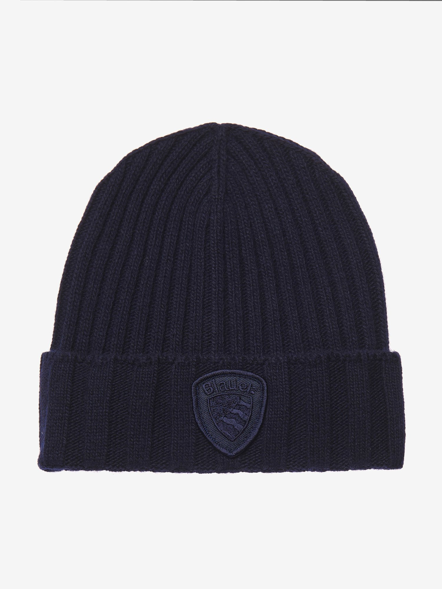 Blauer - JUNIOR RIB KNIT CAP - blue - Blauer