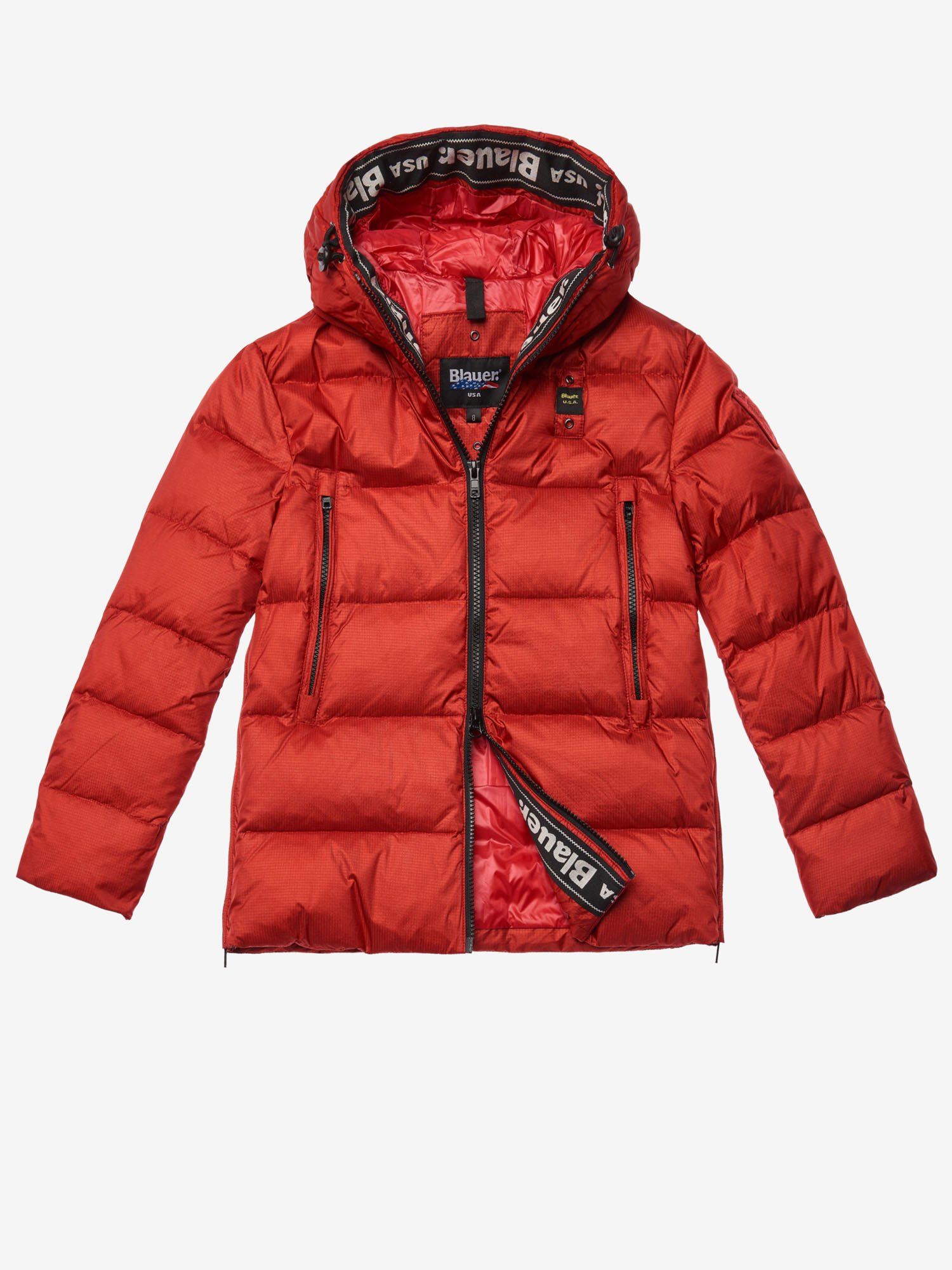 FRASER IRIDESCENT DOWN JACKET - Blauer