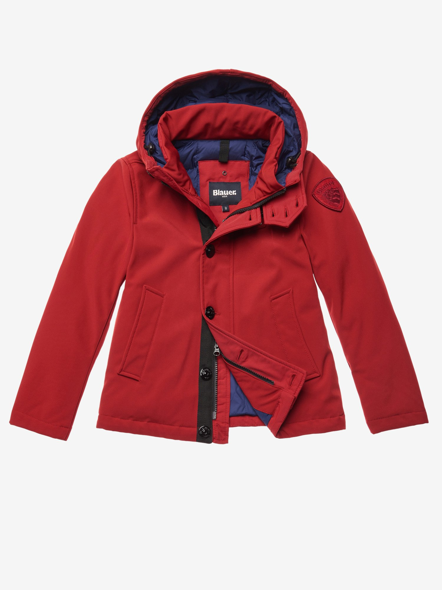 JOHN HOODED PADDED JACKET - Blauer