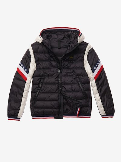 PERRY BICOLOUR NYLON DOWN JACKET