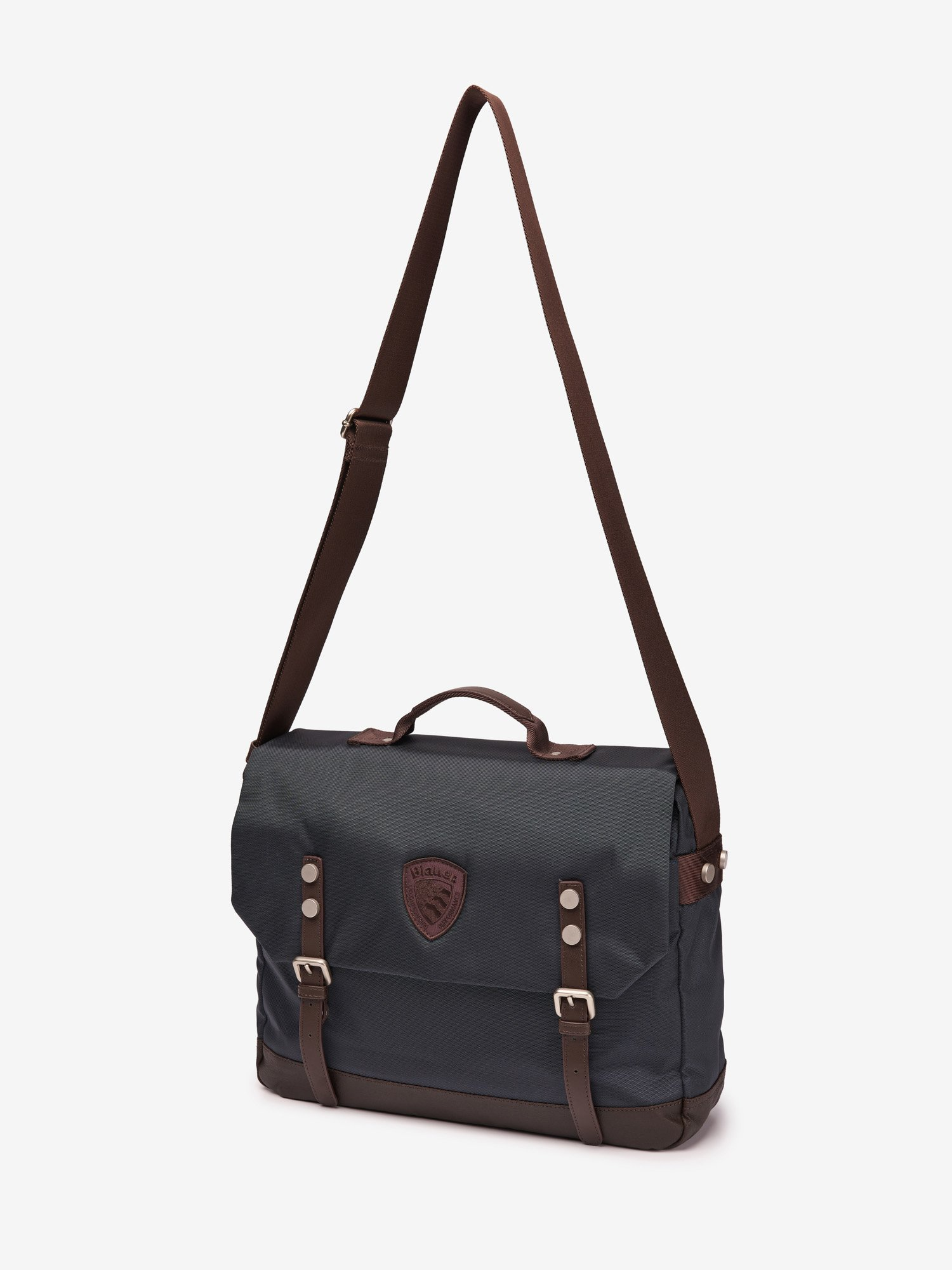 CANVAS BRIEFCASE - Blauer