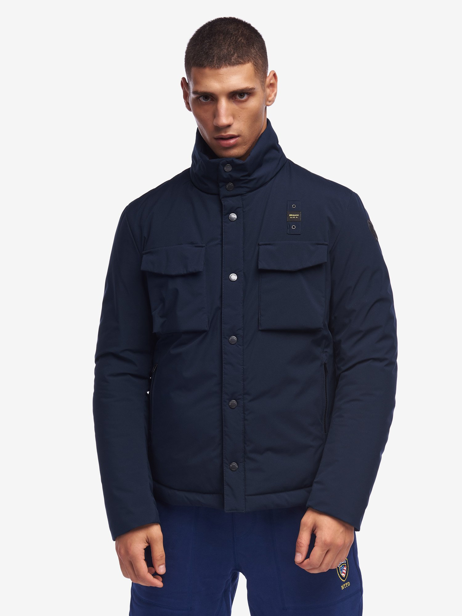 STEVENS FIELD JACKET WITH ECO PADDING - Blauer