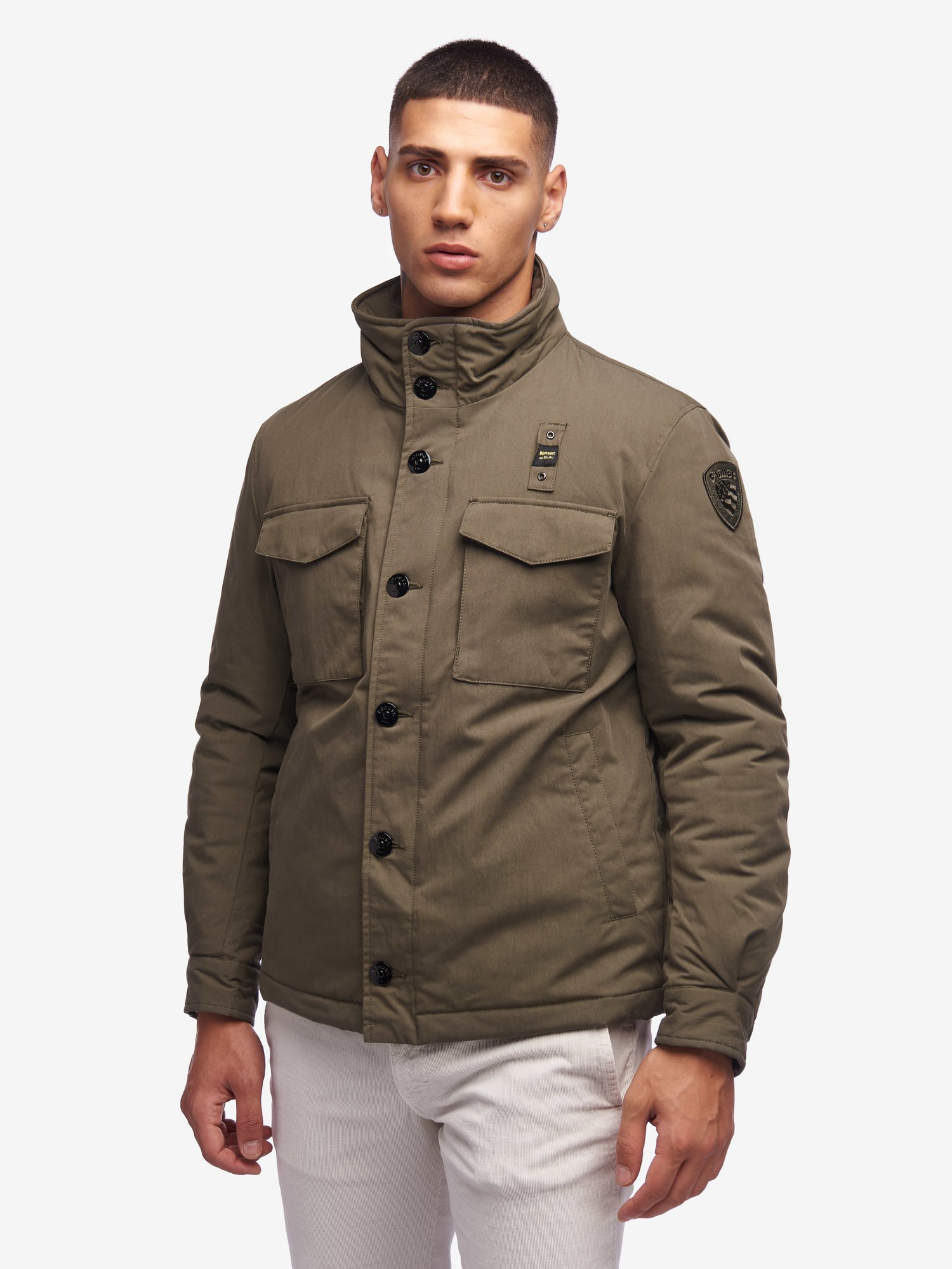 Blauer - HUNTER PADDED FIELD JACKET - Forest Green - Blauer