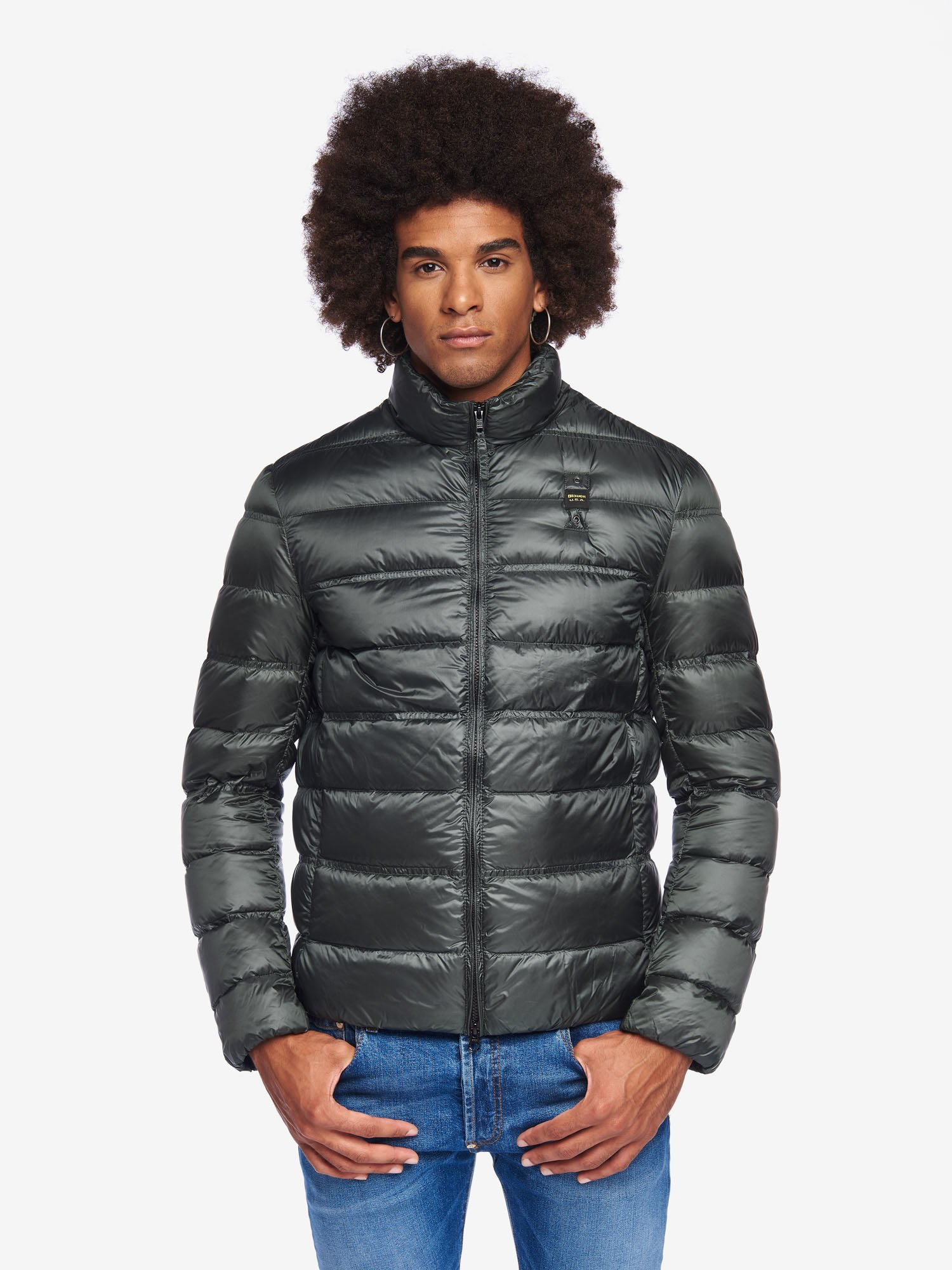 Blauer - HARVEY SOLID COLOUR DOWN JACKET - Blauer