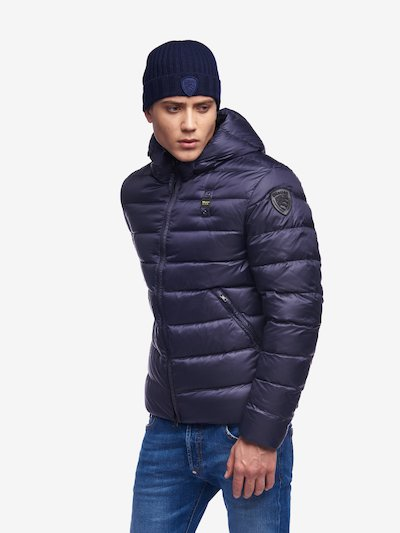 MILLS DOWN JACKET WITH ATTACHED HOOD