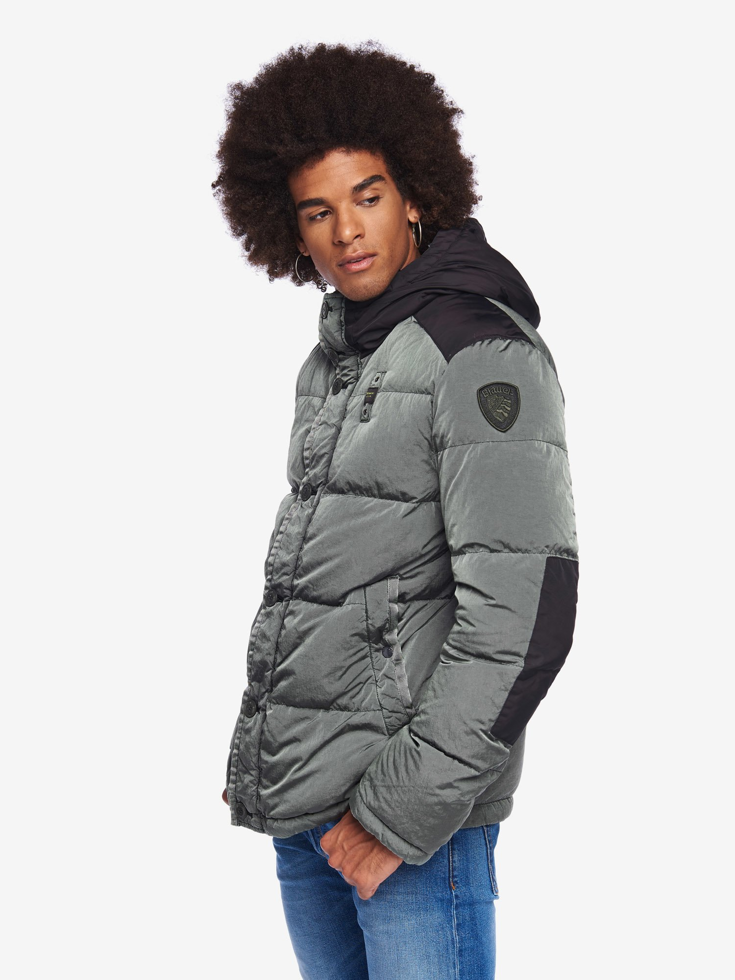 MCDONALD NYLON JACKET - Blauer