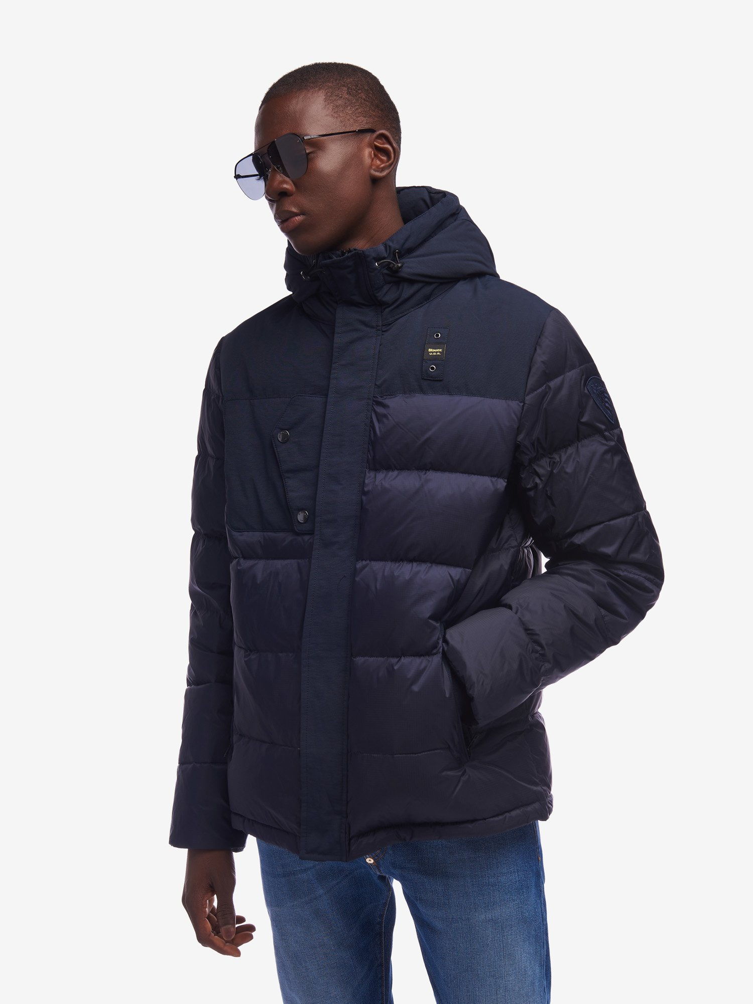 WEST RECYCLED DOWN JACKET - Blauer