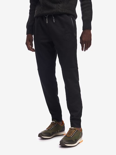 COTTON-BLEND SWEATPANTS WITH ZIP POCKETS