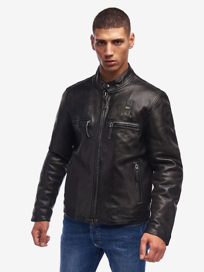 WATSON LIGHTWEIGHT PADDED LEATHER JACKET