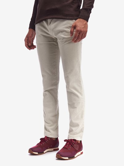 PANTALONE CHINO STRETCH 1000 RIGHE