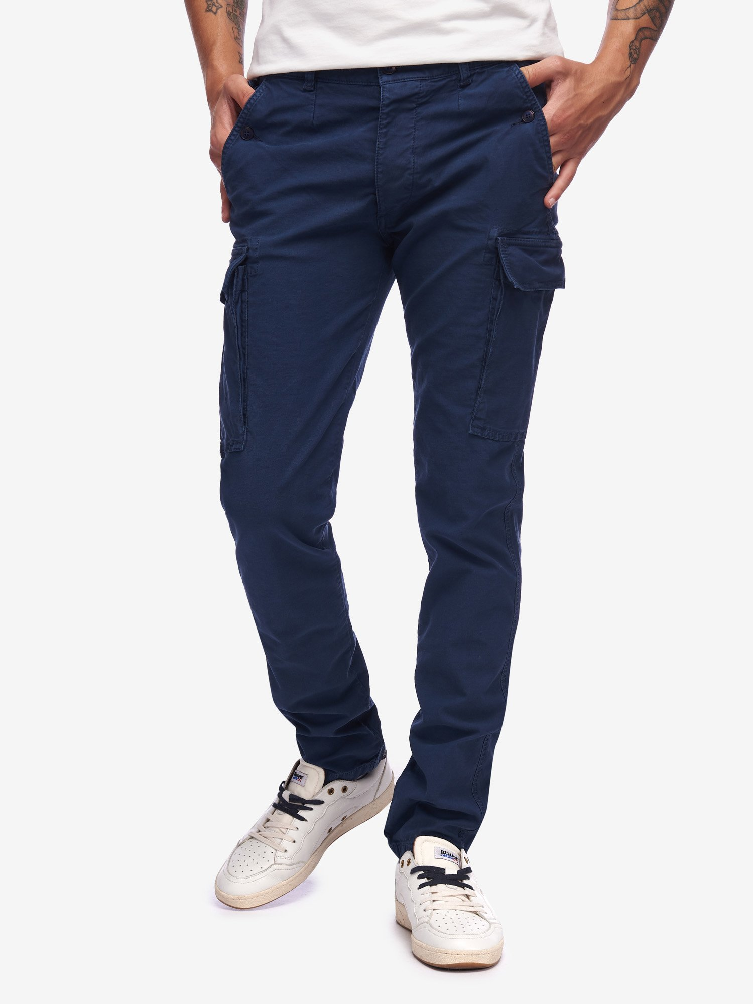 MULTIPOCKET MALFILE TROUSERS - Blauer