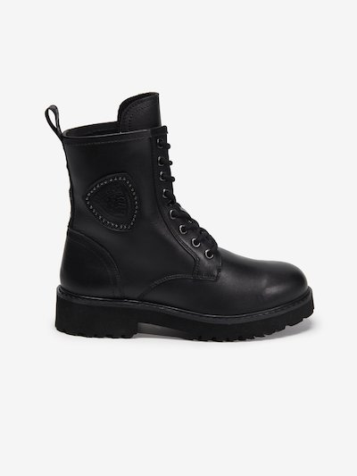 IRVINE LEATHER LACE UP BOOTS
