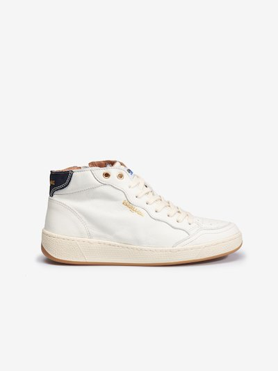BASKETS MONTANTES CUIR FEMME OLYMPIA