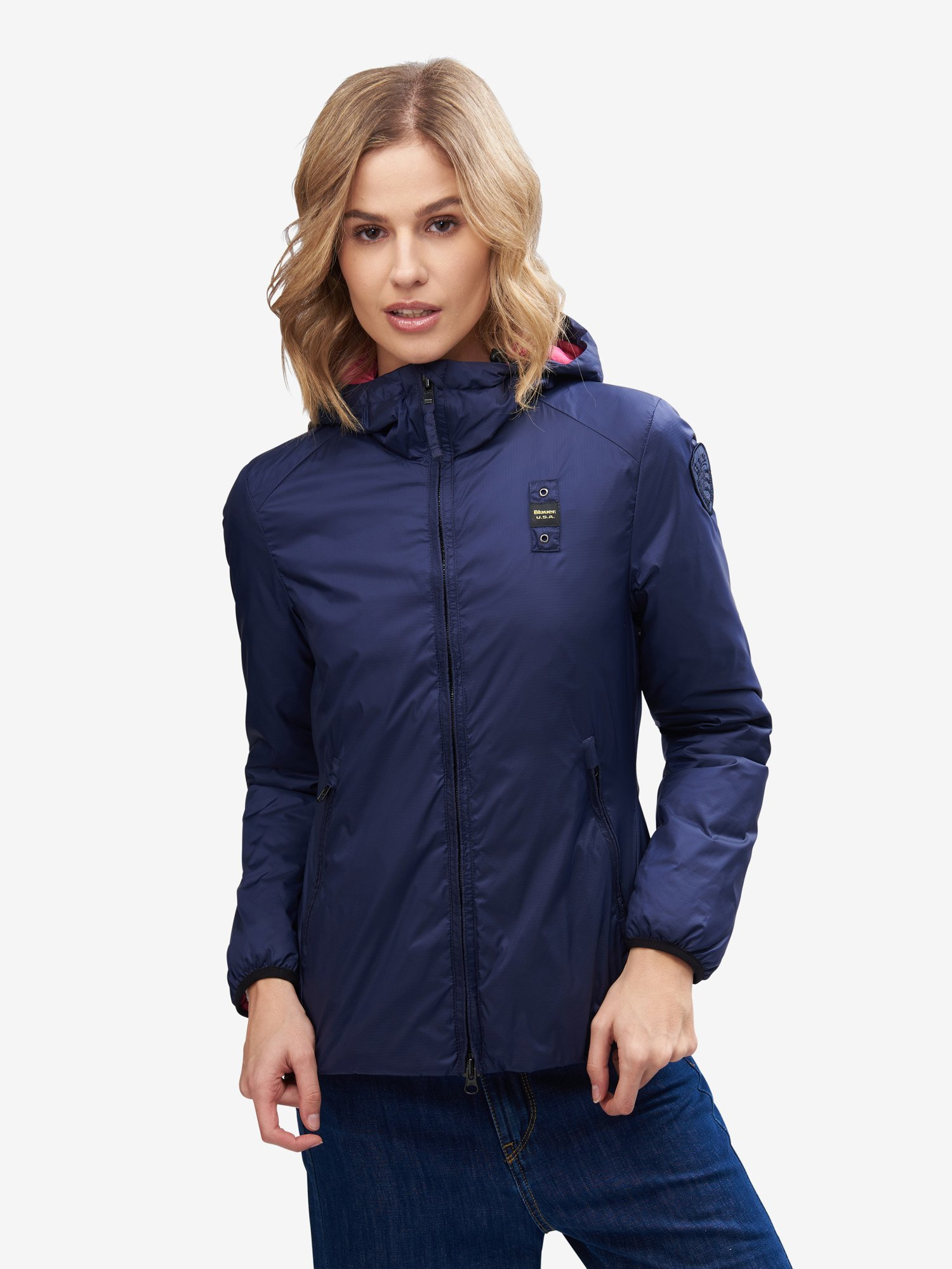 CROSS LIGHTWEIGHT PADDED JACKET - Blauer