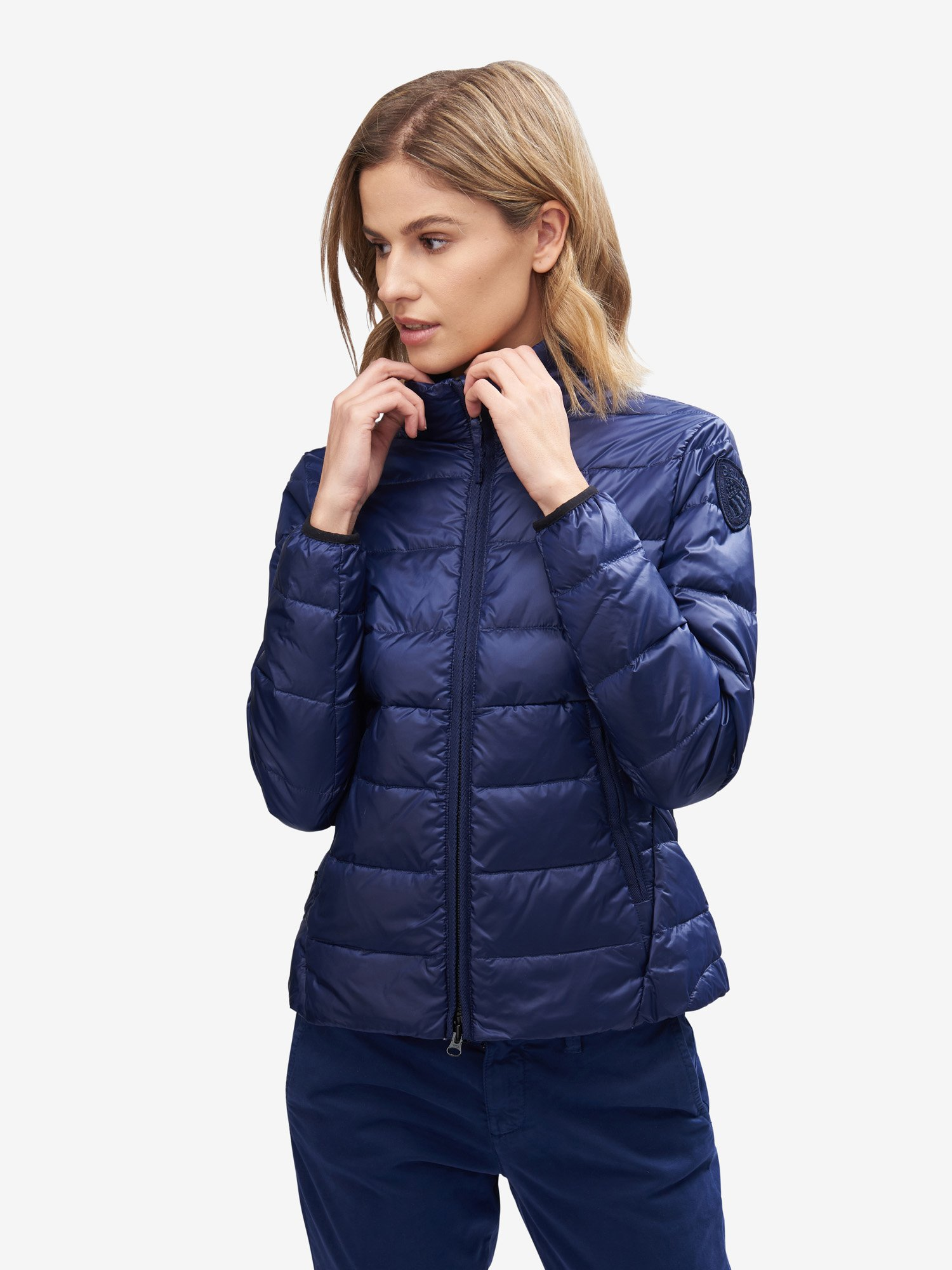 Blauer - PETERSON LIGHT PADDED DOWN JACKET - Blue Sapphire - Blauer