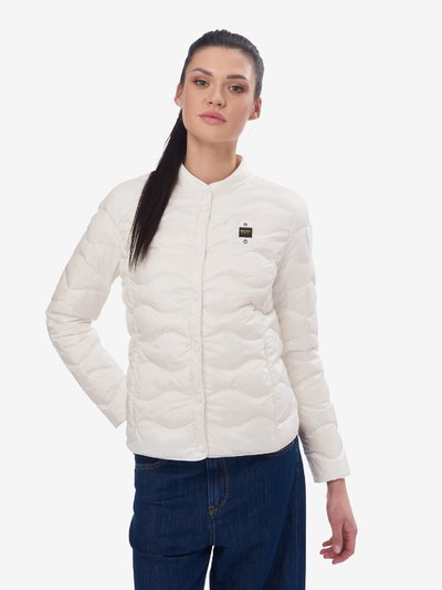 REED WAVE-QUILTED DOWN JACKET
