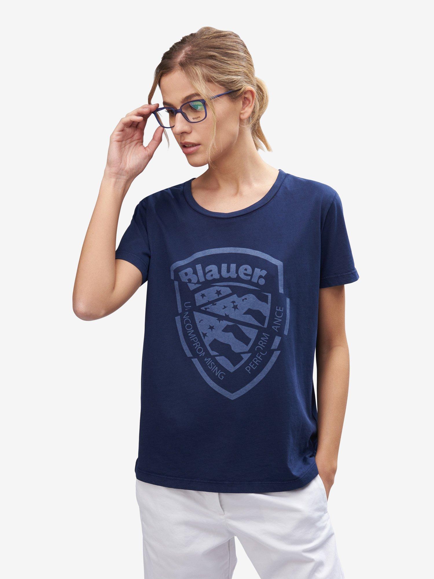 T-SHIRT  MANICA CORTA - Blauer