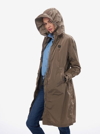 NORMAN MILITARY TRENCH COAT