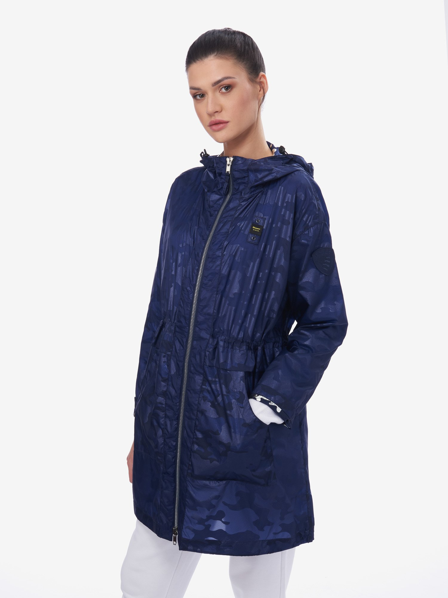 RICE ULTRALIGHT UNLINED TRENCH COAT - Blauer