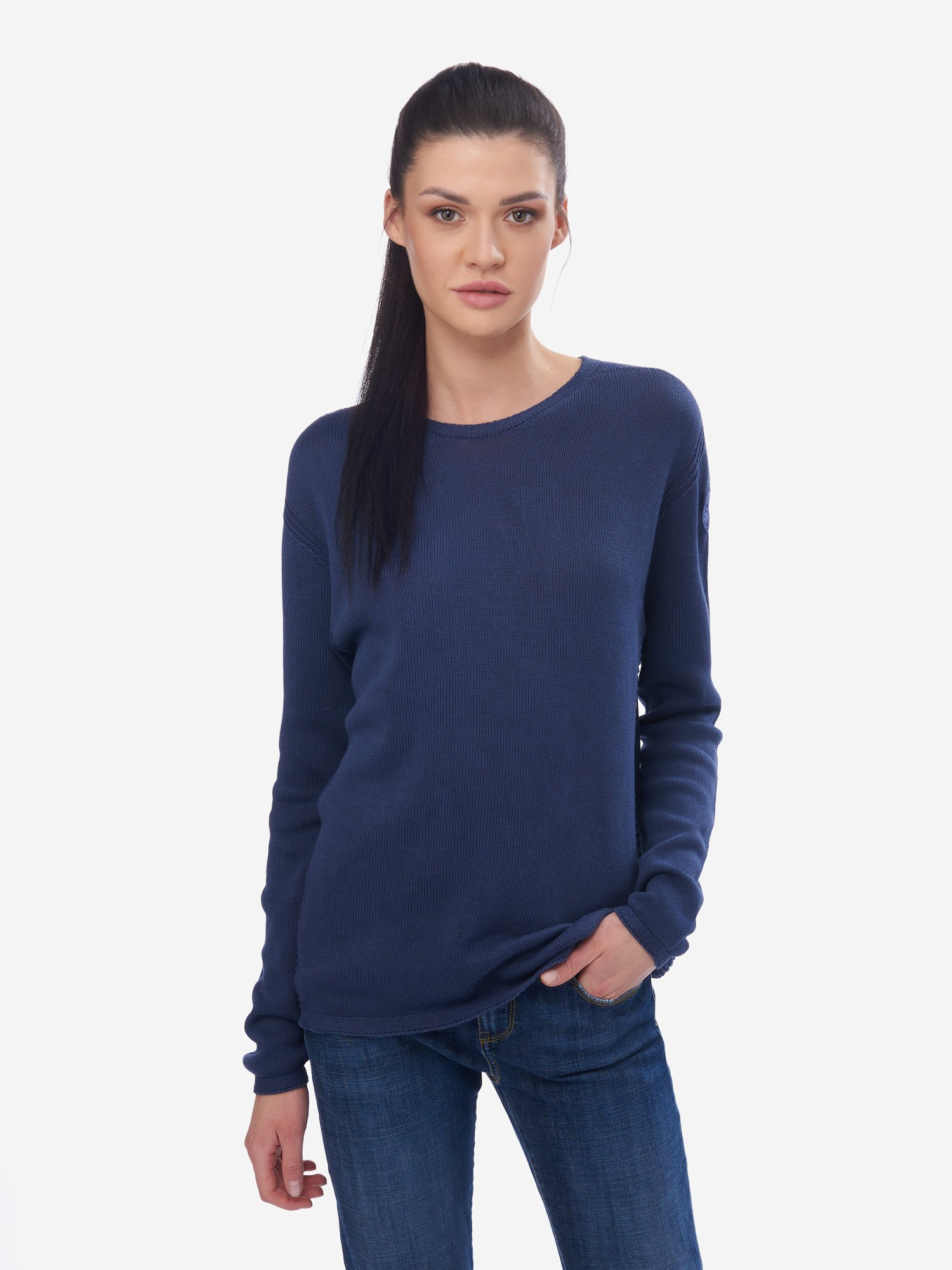 SWEATER WITH MESH DETAILS - Blauer