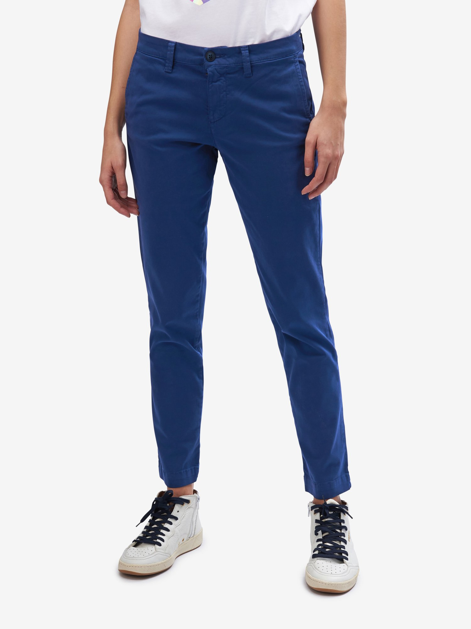 LONG SATIN TROUSERS - Blauer