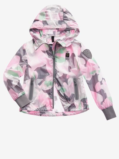 JUNIOR LINED CAMOUFLAGE JACKET