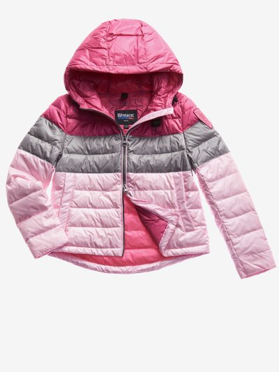 JUNIOR THREE-COLOUR PADDED JACKET