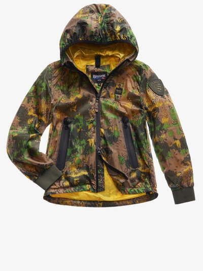 JUNIOR LINED JACKET WITH DOUBLE HOOD