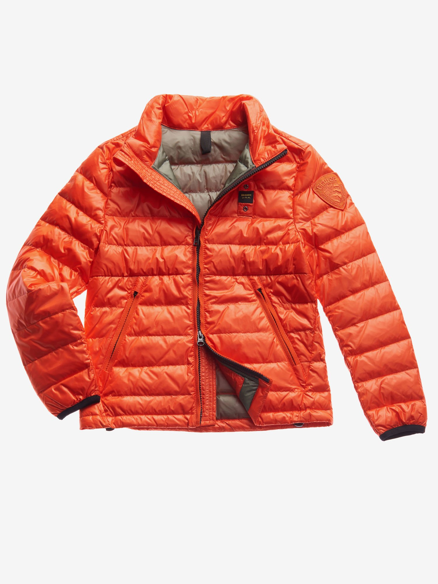 JUNIOR BASIC NYLON DOWN JACKET - Blauer