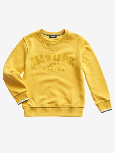 BASIC RUNDHALS-SWEATSHIRT JUNIOR