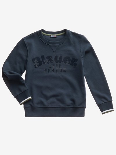 JUNIOR BASIC CREW NECK SWEATSHIRT