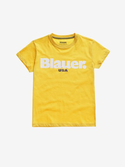 BASIC T-SHIRT JUNIOR BLAUER
