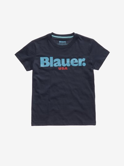 JUNIOR BASIC BLAUER T-SHIRT
