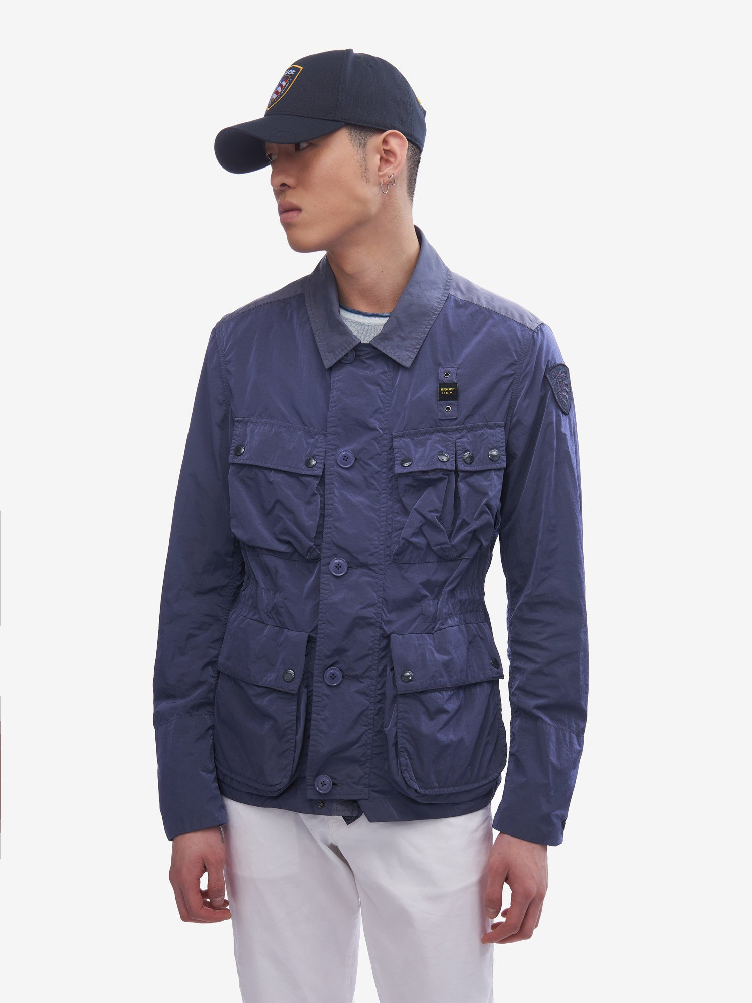 Blauer - WEBSTER UNLINED FIELD JACKET - Blue Sapphire - Blauer