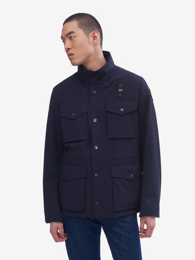 NEOPRENE UNLINED FIELD JACKET